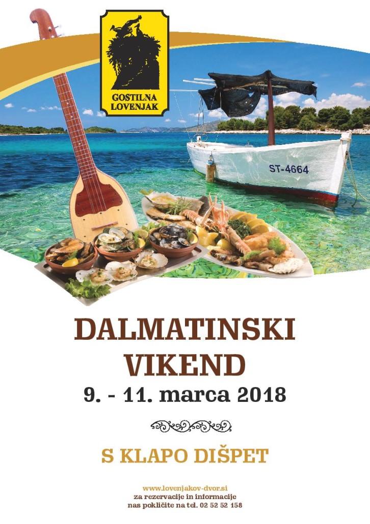 Dalmatinski vikend 2018