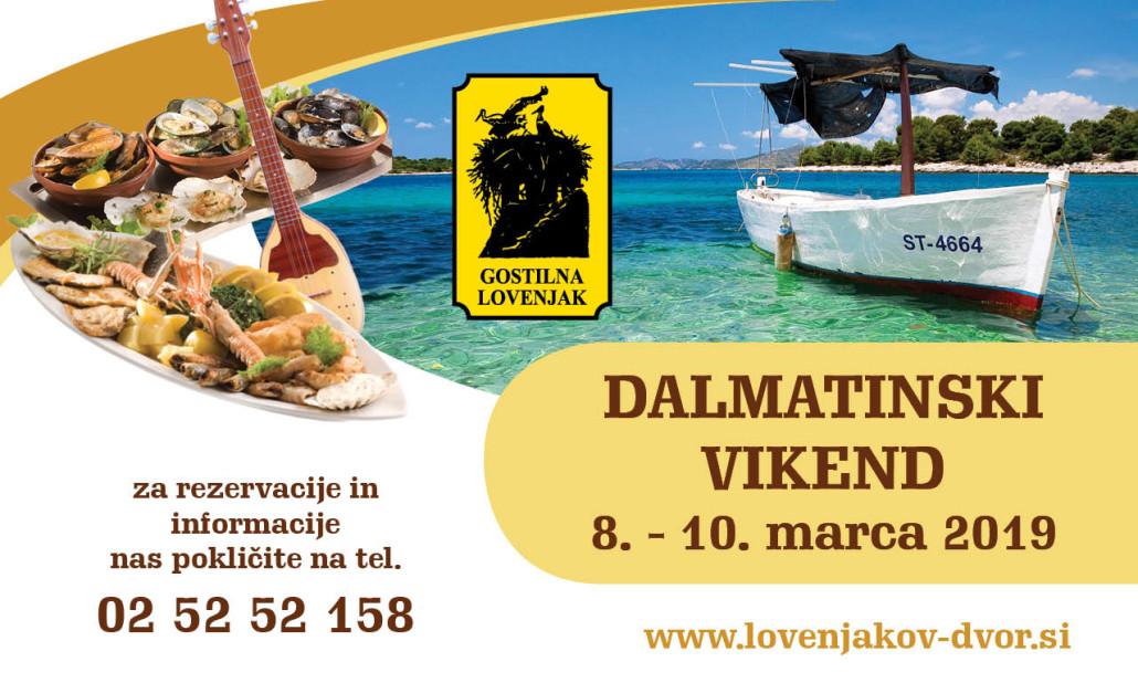 Dalmatinski vikend 2019